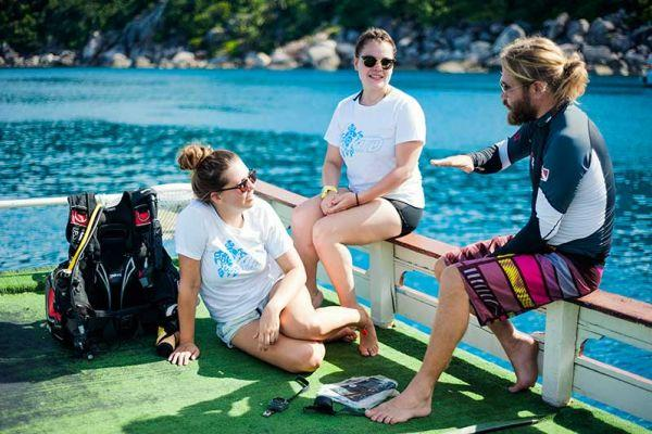 Dive professional courses on Koh Tao